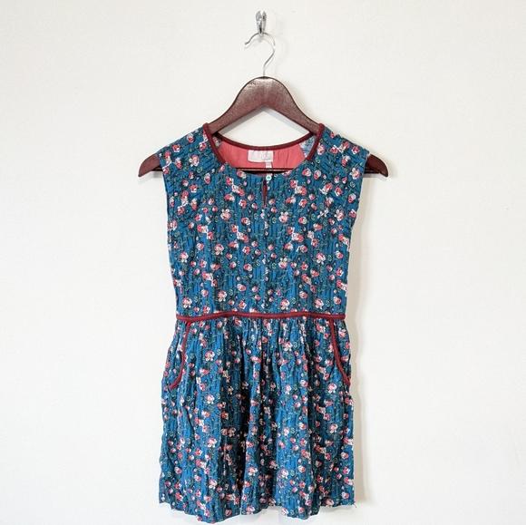 Matilda Jane 435 Floral Sleeveless Dress Size 10